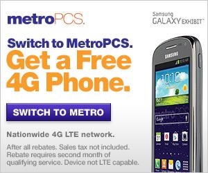 MetroPCS Free Phone Offer